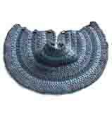 вязаные шапка манишка для детей месяцев с описанием.